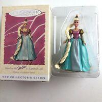 Vintage Hallmark Ornament Keepsake Barbie as Rapunzel Doll 1997 Gift Christmas
