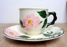 Villeroy & Boch Wildrose 1 Kaffeetasse mit Unterteller
