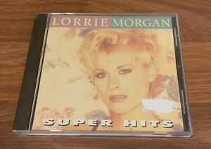 Lorrie Morgan Super Hits PROMO CD Country 1998