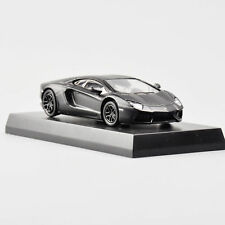 1/64 Black Lamborghini Aventador LP 700-4 Model Toy Car Collection Black Kyosho