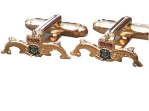 Royal Navy Submariners Military Cufflinks
