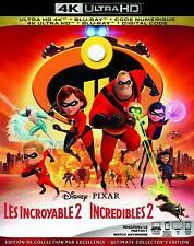 The Incredibles 2 -4K Ultra Hd + Blu-Ray+ Digital Brand New & Sealed! Fast Ship!