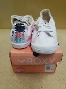 Roxy Bayshore Lace Up Shoes (White, US Women's sizes 6.5-10) New With Box