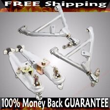 SILVER Fits Nissan 240SX S13 S14 SR20 SR20DET Front & Rear Lower Control Arm