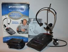 Plantronic S11 System Over-The-Head Telephone Headset Noise Cancel Microphone