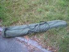 TENT POLE / GAZEBO BAG HEAVY DUTY CANVAS LARGE 180cm X 15cm X 15cm  OLIVE GREEN