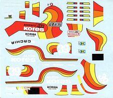 PORSCHE 935 GR.5 N°39 KORES LE MANS 1979 DECALS 1/43