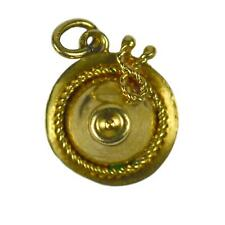 14kt Yellow Gold Sombrero Hat Charm Pendant