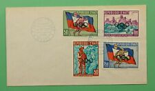 DR WHO 1960 HAITI FDC 8TH OLYMPIC WINTER GAMES OVERPRINT C241300