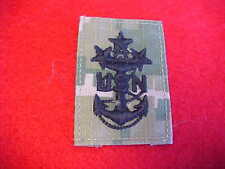 US Navy ACU Type III Green Digital  E-10 patch for cover - MCPON
