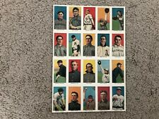 Renata Galasso Uncut Sheet of 20 Reprinted Cards. Piedmont Old Mill