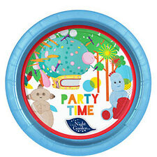 IN THE NIGHT GARDEN CHILDRENS BIRTHDAY PARTY PACK OF 8 DISPOSABLE PLATES