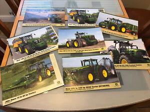 John Deere Tractor Brochures X8 British Including 6030 Artic !!!