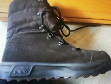 PUMA Goretex Winter Stiefel WILD LEDER Lammfell I fast NEU  Braun Größe 43 US 10