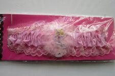 New PINK GARTER | Lace | Ribbon | Flirty Floosie badge | Bride | Wedding (FF)