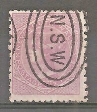 New South Wales   Sc# 66b   Used   Cat Val $6+     gtc6