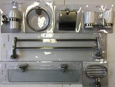 Badezimmer Set 7-teilig Old Brass Messing Bad Accessoires Nostalgie Design 09