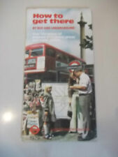 How to Get There by Bus and Underground  1979. times, prices and travel details