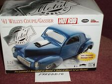 TESTORS 1941 WILLYS COUPE ASSEMBLY KIT 1/24 SKILL LEVEL 1