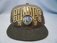 New Era 9Fifty Golden State Warriors 2018 Champs Snapback BRAND NEW hat cap NBA