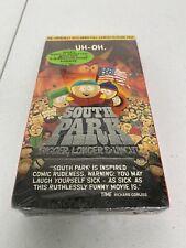 South Park: Bigger, Longer & Uncut (Vhs Tape) New Sealed w/ Green Sticker - Read