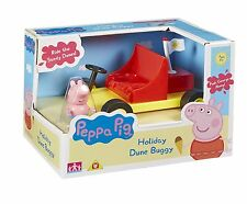 PEPPA Pig Holiday Time Dune Buggy con George Figura