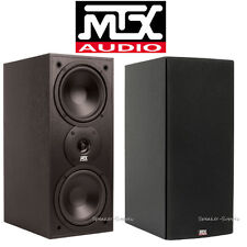 "MTX Audio Monitor60i Bookshelf Speaker 6.5"" 2 Way Loudspeaker Home Theater Pair"