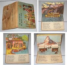 Libro Pop-Up 3D LE VACANZE DI BILL E BOB Editrice Piccoli Papyria Albi a rilievo