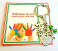 Childminders Like You are Precious and Few Thank you gift key ring End of Term
