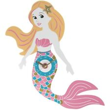 Gorgeous Brightly Coloured Mermaid Fantasy Wall Clock Christmas Bedroom Gift