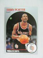 Terry Porter Portland Trailblazers 1990 NBA Hoops Basketball Card 249