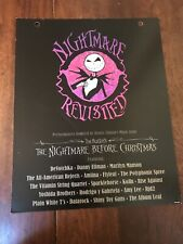 The Nightmare Before Christmas-Revisited Record Store Promotional Sign Poster