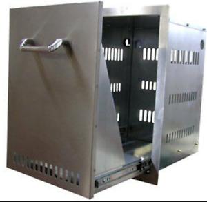 BULL Stainless Steel Propane/Trash Drawer # 56825