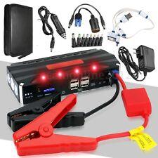 68800mAh 12V Coche Auto Jump Starter Arrancador Cargador Batería Power Bank 4USB