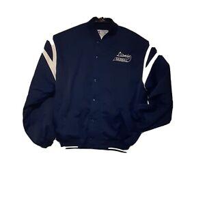 Russell Athletics Men's Lions Baseball Bomber Jacket XL EUC
