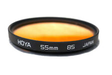 55mm HOYA 85A Filter - Warming Color Correction - NEW