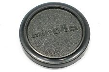 Genuine Minolta 57mm Vintage Push on Lens Cap fits lens with 55mm filter thread