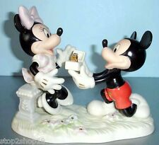Lenox Disney Minnie's Dream Marriage Proposal From Mickey Mouse Figurine New