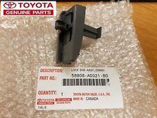2005-2011 Toyota Tacoma Gray Leather Center Console Armrest Lid Lock Genuine OEM