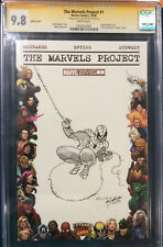 TIM SALE ORIGINAL Sketch Art CGC 9.8 Signed SPIDER-MAN Comic not CBCS Homecoming