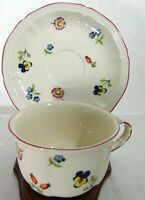Villeroy & Boch PETITE FLEUR CUP & SAUCER  Set MODERN HOME CHINA TEA COFFEE