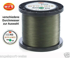 WFT Round Dynamix KG geflochtene Angelschnur grün ab 50m alle Stärken Schnur
