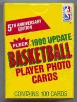 1990-91 Fleer Update Basketball Set