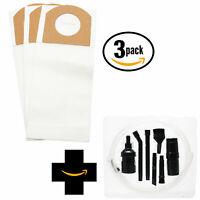 9 Vacuum Bags + Micro Kit for Dirt Devil M086370, M086010, UD30000, M085570
