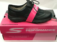 Skechers Go Golf KILTIE Black/Grey Womens Golf Shoes 6.5M Were $100