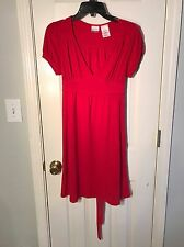 HUGE MARKDOWN‼ No Boundaries Size M (7 /8 ) Bright Red Stretch Fit Dress