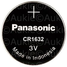 10 x Panasonic CR1632 Lithium Button Cell Battery 3V Batteries Post from Sydney