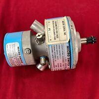 Micro Switch 33VM82-120-7 DC Control Motor w/ Analog Tachometer & Free Shipping