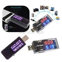USB LCD Charger Doctor Current Voltage Detector Battery Voltmeter Ammeter Tester