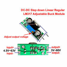 DC-DC Buck Step-down Regulator Converter 4.5~65v to 3V 6V 9V 12V 24V 48V Module